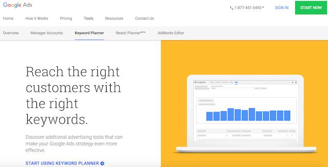 công cụ nghiên cứu từ khóa keyword planner