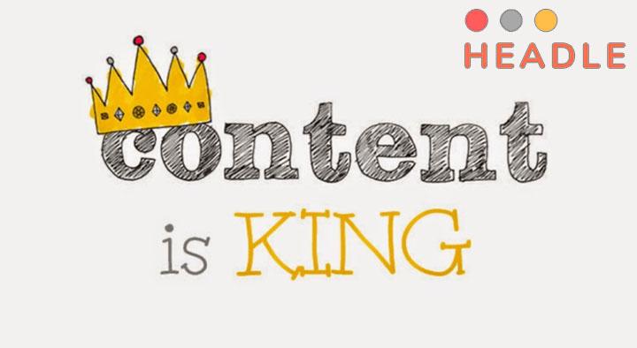 quản trị nội dung website phải luôn đi cùng content is king
