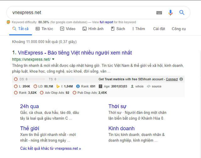 hướng dẫn seo từ khóa lên top 1 google