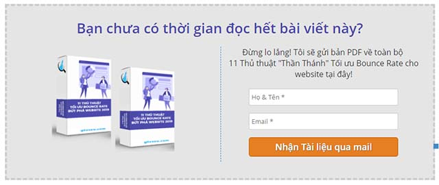 content cho doanh nghiệp - Tạo dựng content upgrade