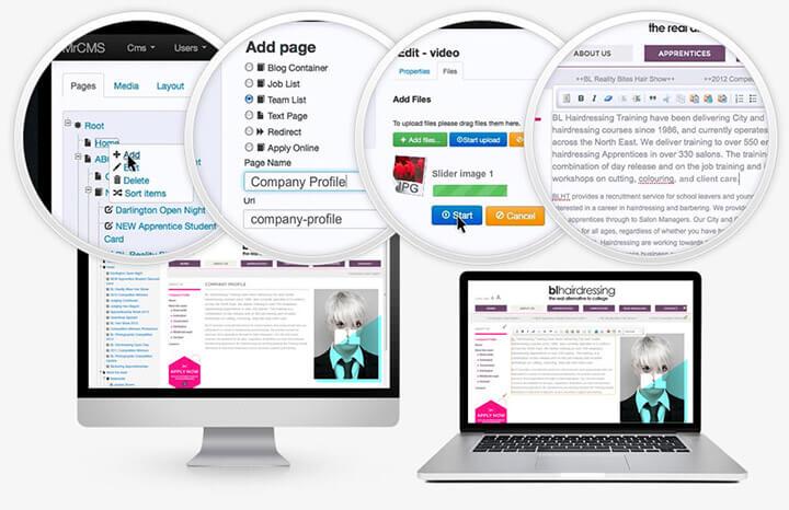 giữ content website đơn giản